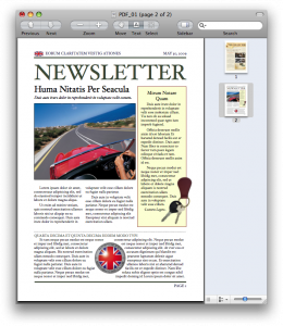 Gotowy dwustronicowy PDF